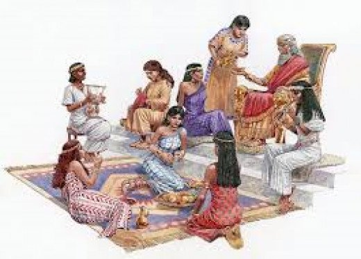 Solomon and some of his wives