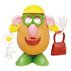 A modern Mrs. Potato Head.