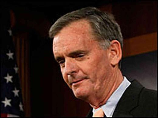 Judd Greg, former VT. GOP Senator
