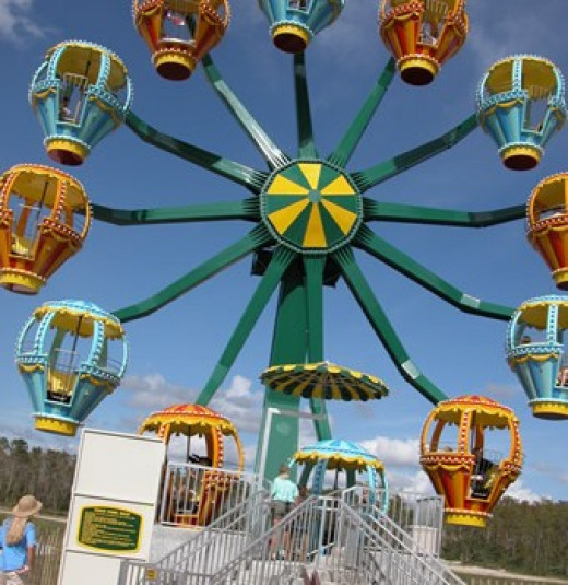 Gorgeous ferris wheel- photo from LCS website