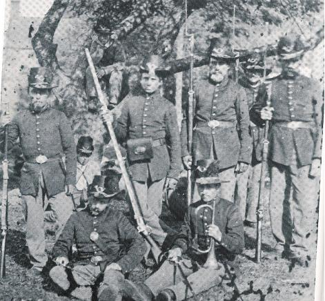 Members of a Regiment in the U.S. Regulars
