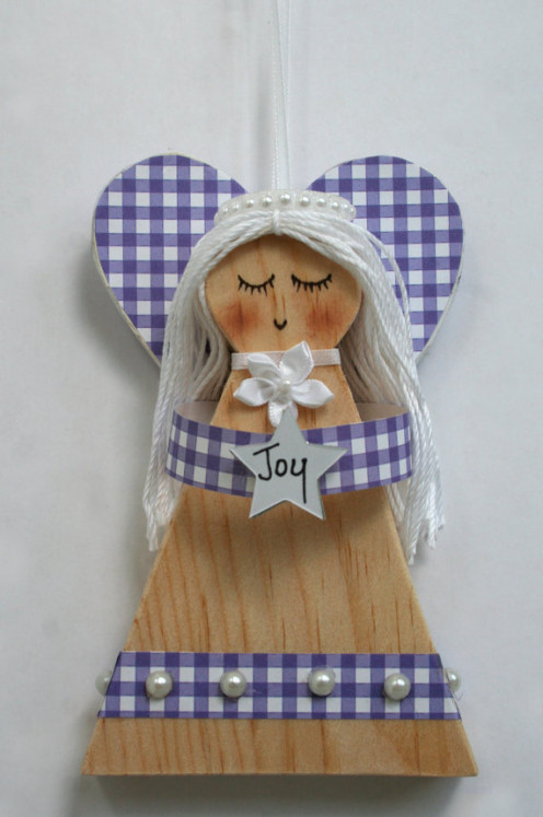 Joy Wooden Angel