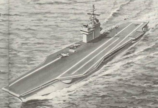 Proposed Nuclear aircraft carrier