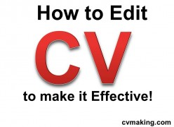 How to edit your CV and make a Long Resume short: Success Tips