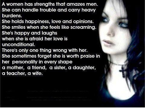 Lots of pictures and great quotes for and about women.