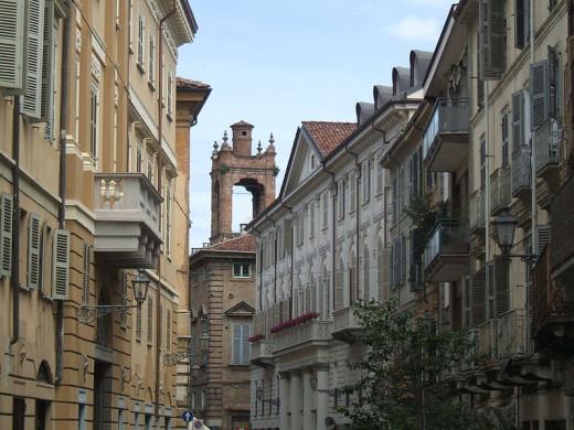 A glimpse at the centre of Casale Monferrato