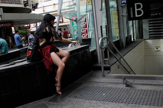 Girl in Australia