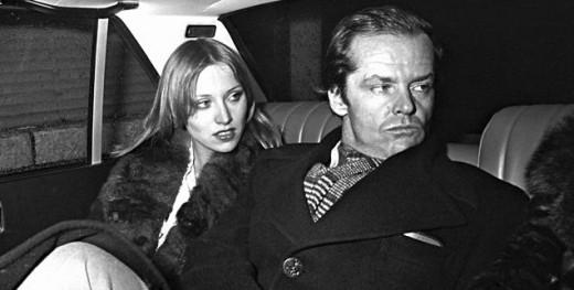 Winnie Hollman with Jack Nicholson