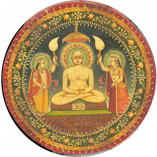A Miniature painting of Vardhaman Mahaveer