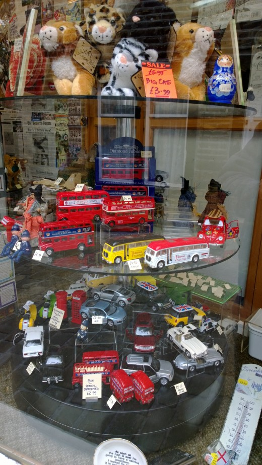 Toys in Window