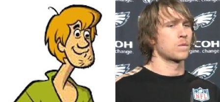 Shaggy and Nick Foles: Separated at Birth?