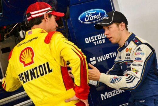 Despite being the defending champion, Keselowski watched teammate Logano be Penske's only representative in this year's Chase