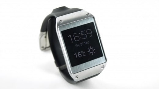 Samsung Galaxy Gear, smartwatch, circa 2013