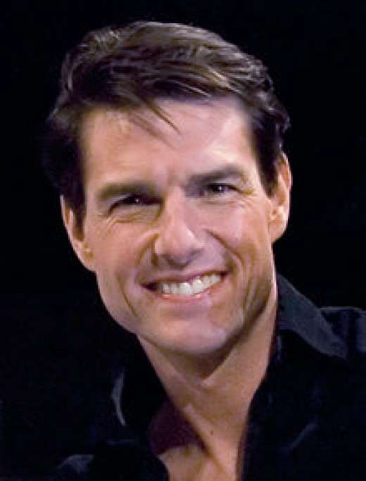 "Picture of Tom Cruise from article about how Scientology helped his dyslexia. ""Diagnosed at the age of seven, Cruise describes his younger self as a ""functional illiterate"". He could barely read in high school or through his earliest roles."""