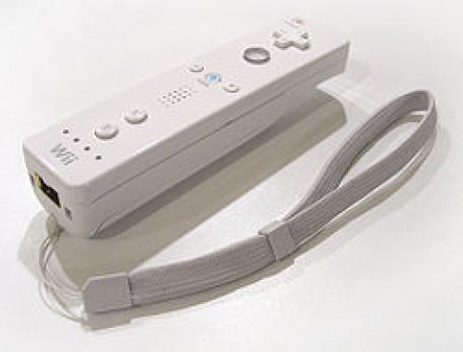 Nintendo Wii Remote, i.e. Wiimote, circa 2006