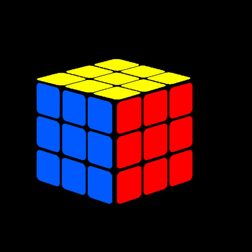 CONGRATULATIONS! You solved the Rubik's Cube