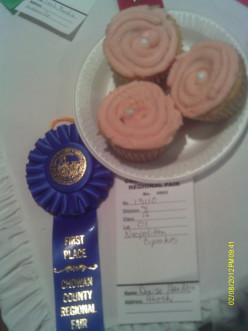 Blue Ribbon Winner:  Neapolitan Delight Cupcakes