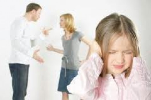 Children of divorce are affected the most.