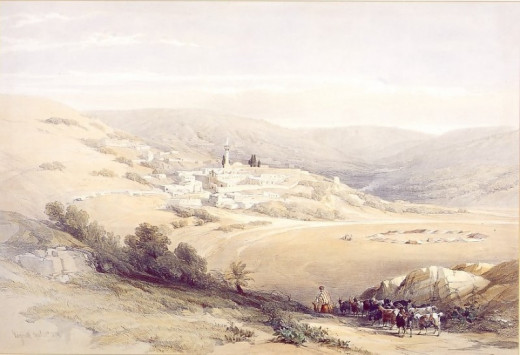 Nazareth_the_holy_land_1842.jpg
