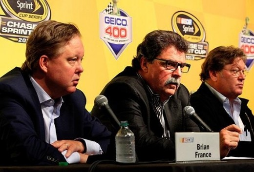 Do NASCAR's top officials have the willingness to overhaul the current schedule? It hasn't happened yet