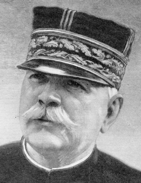 General Joffre, Chief of the French General Staff