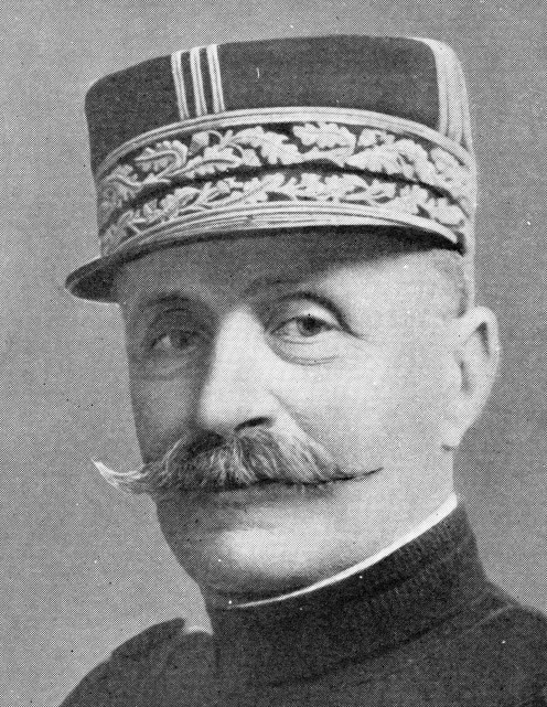 General Foch. He defeated the Germans on the Marne in 1914.