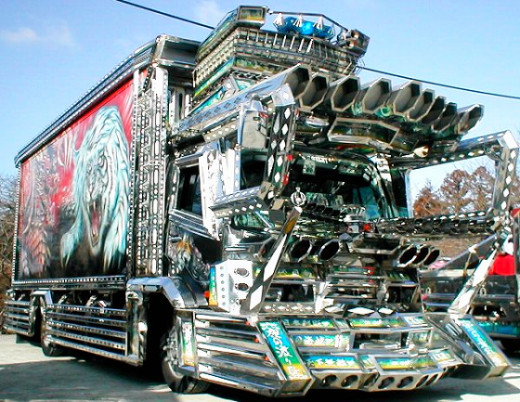 You wish your truck were this hot....