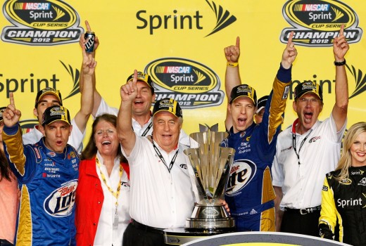 Keselowski's title celebration was good, but imagine how much better it would have been in Vegas?