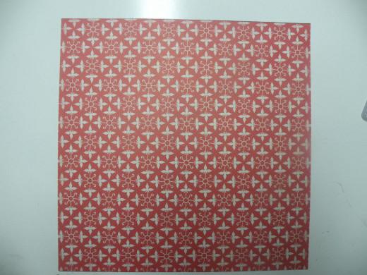 Scrapbook cardstock base page