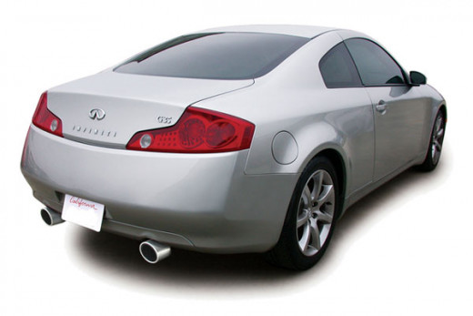 how to install 2003 2007 infiniti g35 coupe catback. Black Bedroom Furniture Sets. Home Design Ideas
