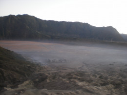 Bromo with its sea of sands.