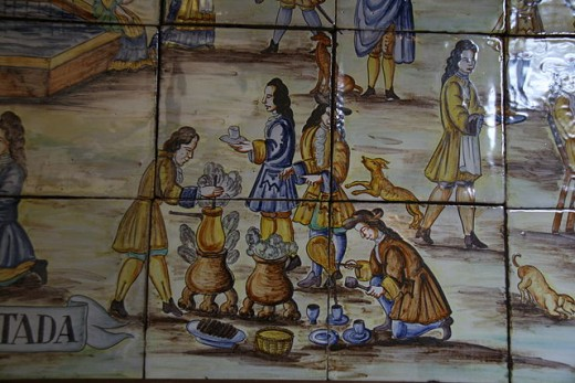 Chocolate-making in 17th century Spain