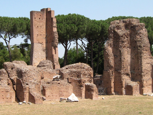 Ruins on the Palatine Hill, Rome