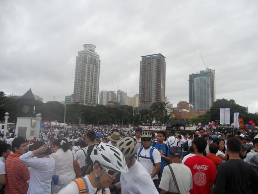 Million People March against Pork Barrel in Luneta  held last August 26, 2013 through social media campaign