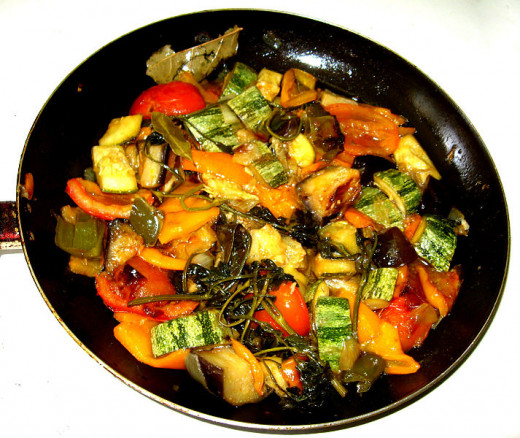 See the Easy Ratatouille Recipe - A delightful vegetable stew that highlights the texture and flavor of fresh vegetables