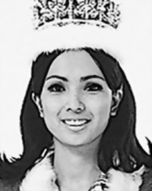 Miss Aurora Pijuan won the second Miss International crown for the Philippines, 1970