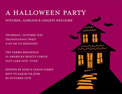 Halloween invitations cards vatozozdevelopment halloween invitations cards stopboris Choice Image
