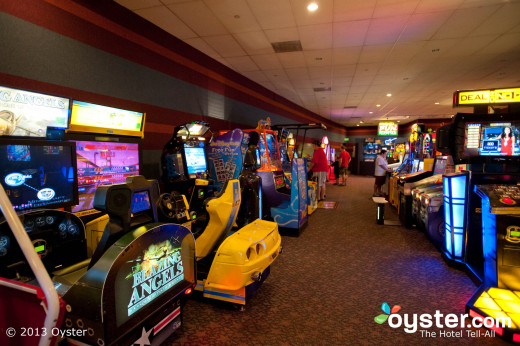 All the All-Star resorts have arcades