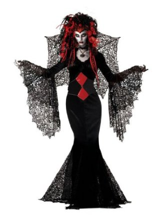 Nightmare Black Widow Costume Women