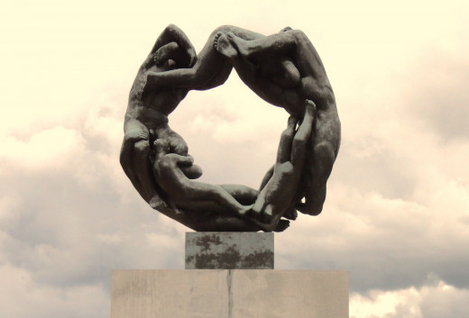Wheel of Life, Vigeland Park, Oslo