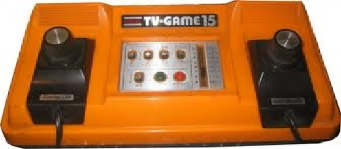 This was Nintendo's first attempt at home gaming. It was called the Color TV Game.