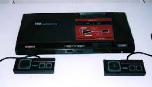 The Sega master system was an 8 bit console that tried to compete with the NES.