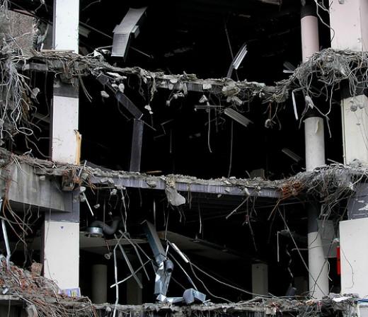 Under destruction from .shots flickr.com
