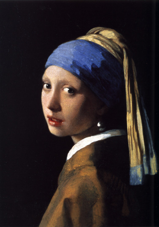 The Girl with the Pearl Earring, by Johannes Vermeer (1632-1675)