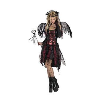 Vampire Fairy Adult Costume With Wings