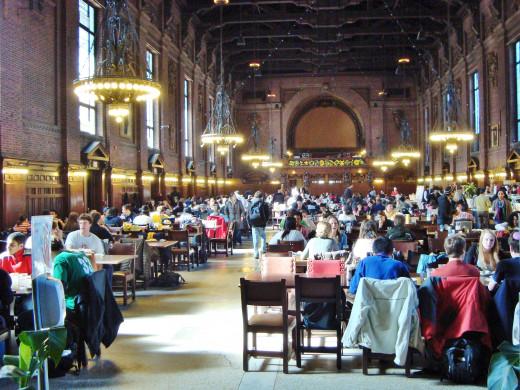 Yale Undergraduate Dining Hall