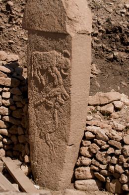 A Stone Column of Gobekli Tepe