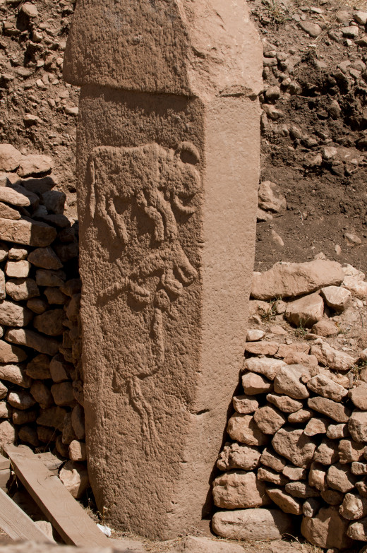 A Stone Column of Gobekli Tepe