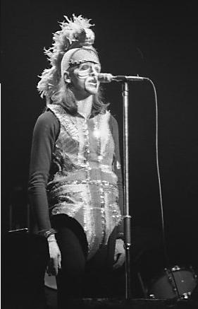 Peter Gabriel in 1974.