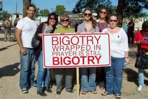 Bigotry is not a family value